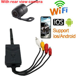 903s Wifi Backup Camera Hd Video Transmitter With Mini Rear View Camer For Car