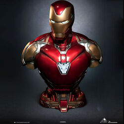 Queen Studios Iron Man Mk85 1/1 Life Size Statue Led Lighting Resin Collectible