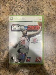 College Hoops 2k8 Microsoft Xbox 360 2007 Complete With Case And Manual