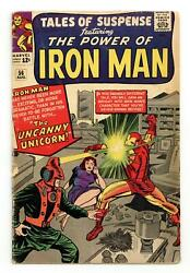 Tales Of Suspense 56 Gd 2.0 1964