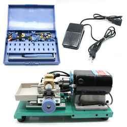 Jewelry Pearl Stepless Holing Drilling Machine Full Driller Punch Tool Handle