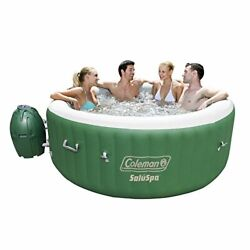 Bestway 54131e Saluspa Inflatable Hot Tub Spa Pack Of 1 Green And White
