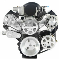 Eddie Motorsports Ms107-62bcl S-drive Complete Serpentine Pulley Drive System Ls