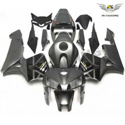 Ms Fit For Grey Black Injection Plastic Abs Fairing Honda 05-06 Cbr600rr K0116
