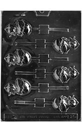 Cybrtrayd Easter Chocolate Candy Mold Chicken In Egg Lolly E025