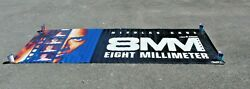 Columbia Pictures 8mm Movie Cinema Vinyl Standee Banner Poster Used 10ft