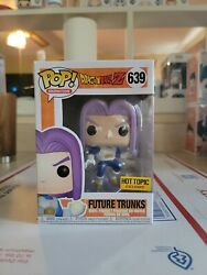 Dbz Future Trunks Hot Topic Exclusive Funko Pop In Hand Ships Asap