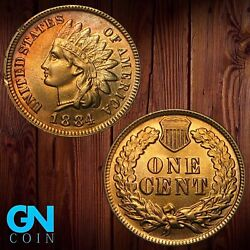 1884 Indian Head Cent Penny -- Make Us An Offer K1983
