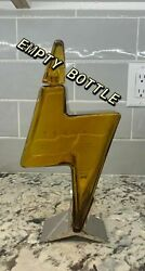 Empty Tesla Tequila Bottle + Stand + Box Limited Edition No Alcohol Empty