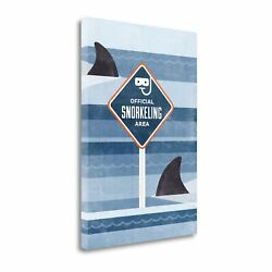 Tangletown Official Snorkeling Area By Hannes Beer Wall Art Icb3035d-3042c