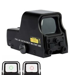 Red Green Dot Holographic Reflex Sight Tactical Optics Scope Model 553 W/battery
