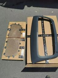 3 Pcs Bentley Continental Gt,gtc Front Radiator Grill 2012 To 2014