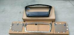 4 Pcs Bentley Continental Gt,gtc Front Radiator Grill 2012 To 2014