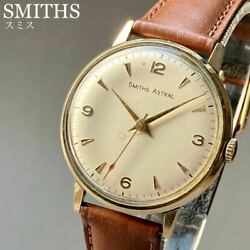 Good Operation Oh Already Smith Astral Gold Solid Antique Wristwatch 1967