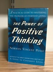 The Power Of Positive Thinking 1st Ed. 7th Printing July 1953 Very Good Con
