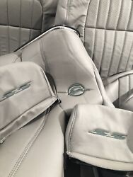 1994 95 96 Chevy Impala Ss Leather Seat Front And Rear Kit Gray W Dggm1 Kit