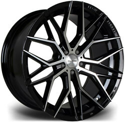 Alloy Wheels Wider Rears 20 Riviera Rf101 For Bmw 5 Series [f10] 10-16