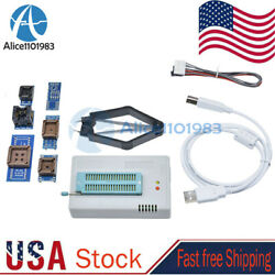 Tl866ii Plus Programmer Eprom Eeprom Flash Minipro With 7 Expansion Adapters