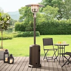 Mainstays Nczh-g-pc Tall Mocha Patio Propane Space Heater 48000btu-2day Delivery