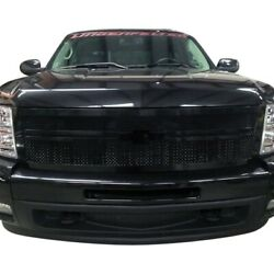 For Chevy Silverado 2500 Hd 11-14 Status Grilles 1-pc Blue Mesh Main Grille