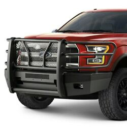 For Ford F-150 15-17 Bumper Elevation Series Full Width Black Front Hd Bumper W