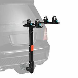 Xcar 2-bike Universal Hitch Mounted Bike Carrier Rack For Car With 2 Receiver