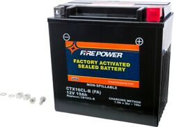 Fire Power Factory Activated Sealed Battery Ctx16cl-b-bs Fa