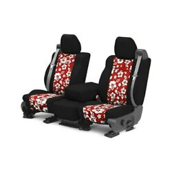 For Dodge Challenger 11-14 Seat Cover Neosupreme 1st Row Black And Hawaiian Red