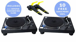 Technics Sl-1210gr - Direct Drive Turntable Package Pair Black