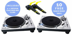 Technics Sl-1200gr - Direct Drive Turntable Package Pair Silver