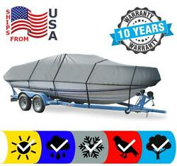 Boat Cover Fits Bayliner 195 Runabout Bowrider 2009 Fade Resistant