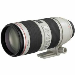 Secondhand 1-year Warranty Canon Ef 70-200mm F2.8l Is Ii Usm
