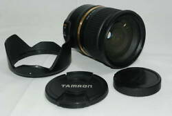 Tamron Large Aperture Standard Zoom Lens Sp 24-70mm F2.8 Di Vc Usd For Canon