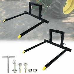 Duty 3 Point Hitch Pallet Forks Carry Forks Category 1 Tractor Mover Attachments
