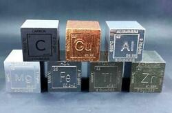 Metal Element Cubes/science Gift/periodic Table Of Elements/set Of 8 Elements