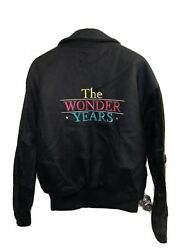 Rare 80s-90s The Wonder Years Cast And Crew Jacket From Casting Director Medium