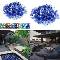 Mr. Fireglass 1/4 Inch Reflective Fire Glass For Fireplace Fire Pit And Landscap