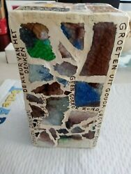 Holland Artist Arie J. Bouter Signed Ceramic Tower Found At Florida Estate Sale