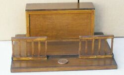 112 Scale Wooden Altar And Steps Tumdee Dolls House Miniature Church Accessory