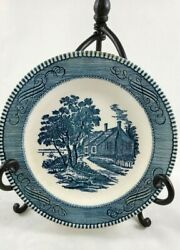 Currier And Ives The Birthplace Of Washington Salad Plate 7 1/4