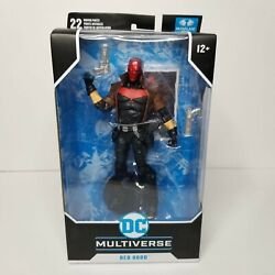 Mcfarlane Toys Dc Multiverse Red Hood New 52 7 Action Figure Damaged Box Sale