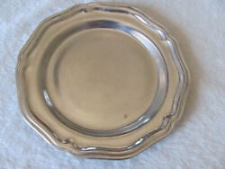 Wilton Armetale Queen Anne Glossy- 7 Bread And Butter Plates- Up To 7 Avail