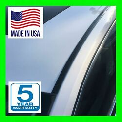 Black Roof Top Trim Molding For 2005-2015 Toyota Tacoma 2pc New 5yr Wrnty