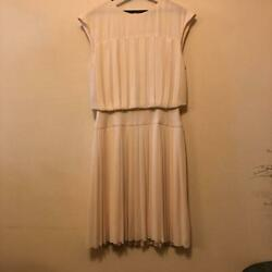 Sale Close To Classy White Beige Dress From Japan Fedex No.6831