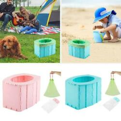Outdoor Portable Folding Toilet Urinal Mobile Seat Potty For Kid Children Travel