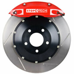 Stoptech 83-320470071 Front Big Brake Kit 355mm X 32mm 2 Piece Slotted Rotors Re