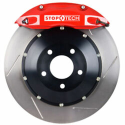 Stoptech 83-305470071 Front Big Brake Kit 355mm X 32mm 2 Piece Slotted Rotors Re