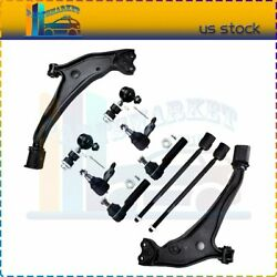 10x Front Lower Control Arms Ball Joints Tie Rods Sway Bars Fits Nissan Quest