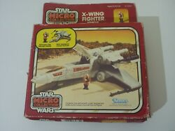 Toltoys 2nd Box Star Wars Offerless X-wing Fighter Micro Collection Misb Vintage