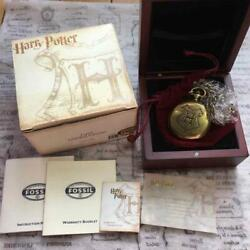Albus Dumbledore Pocket Watch 2001 Fossil Collaboration Limited To 2500 Pieces
